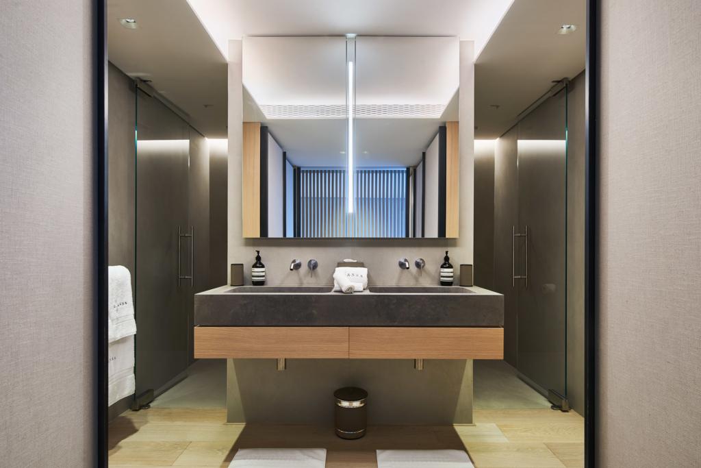 Domaine de L'ansa - Master Suite Bathroom